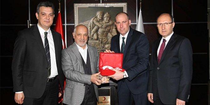 TBF heyetinden Türk Kızılayı'na ziyaret