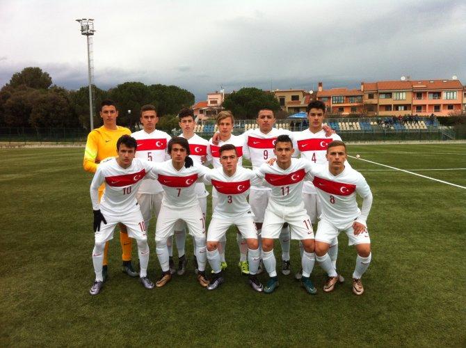 U16 Milli Takımı, Hırvatistan'ı 3-1 yendi