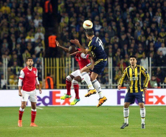 Fenerbahçe: 0 - Braga: 0 (İlk yarı)
