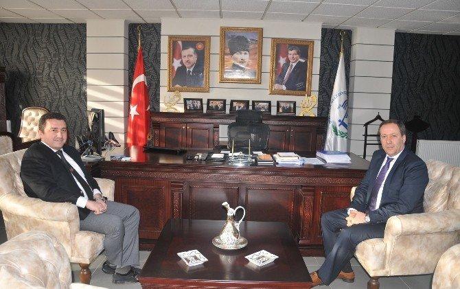 Geyve Belediye Başkanı Murat Kaya'dan Başkan Bakıcı'ya Ziyaret