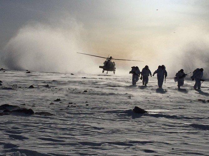 Tendürek Dağı'nda Bölücü Terör Örgütüne Büyük Darbe