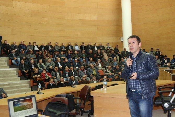 Akhisarlı Çiftçiler Eğitim Toplantısında Buluştu