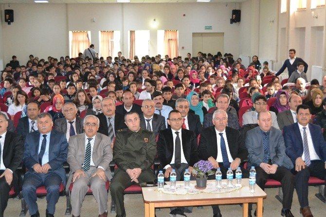Alaçam'da Mehmet Akif Anıldı