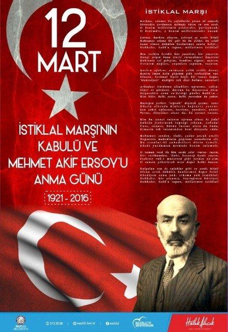 Alıcık, İstiklal Marşı'nın Kabulünün 95'inci Yılını Kutladı