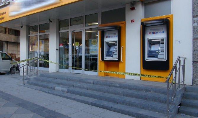 Pompalı tüfekle banka soygunu