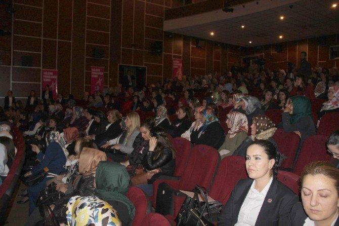 Sare Davutoğlu 'Kadın Sağlığı Projesi' Programına Katıldı