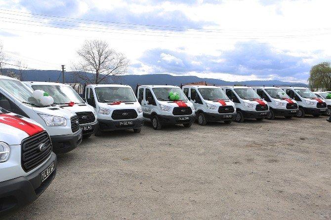 Bolu Belediyesi Araç Filosuna 71 Takviye Yaptı