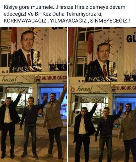 Burdur'da Cumhurbaşkanı'na Hakaret Gözaltısı