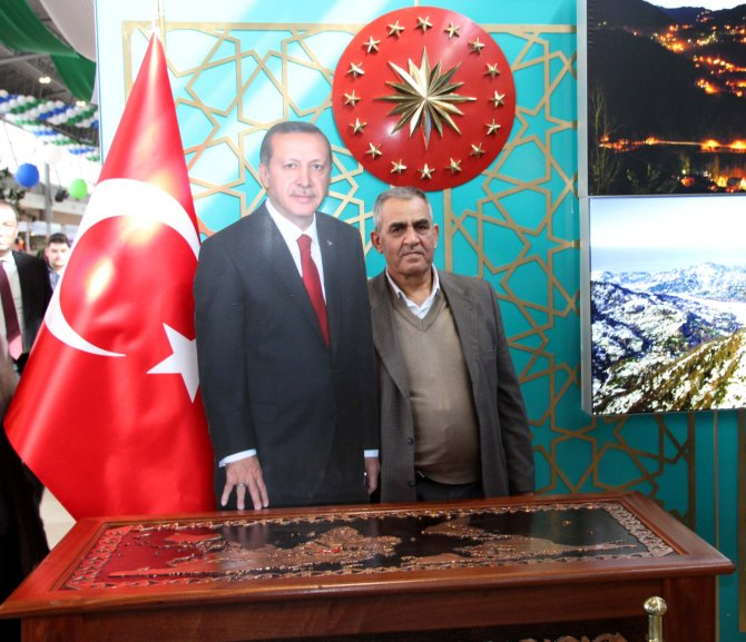 Rize tanıtım günleri ile Rize kültürü Bursa'ya taşındı