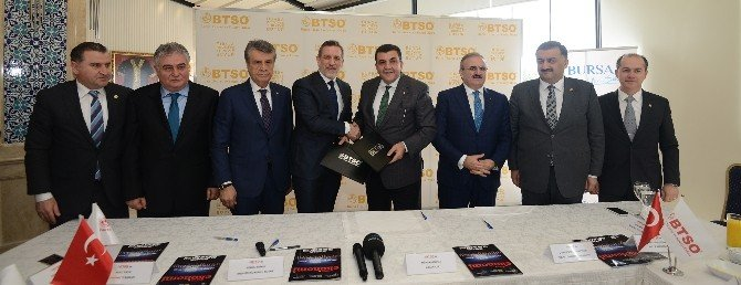 BTSO Ve Rize TSO Kardeşlik Protokolü İmzaladı