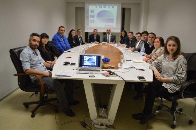 Clk Uludağ Elektrik'ten Emo Bursa Şubesi'ne Ziyaret