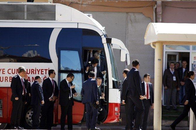 Cumhurbaşkanı Erdoğan Burdur'da