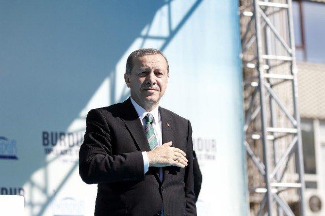 Cumhurbaşkanı Erdoğan, Burdur'da Anayasa Mahkemesi Başkanı'nı Eleştirdi