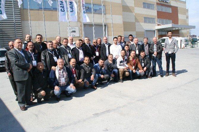Devrek TSO Kapı Pencere Cam Fuarına Gezi Düzenledi