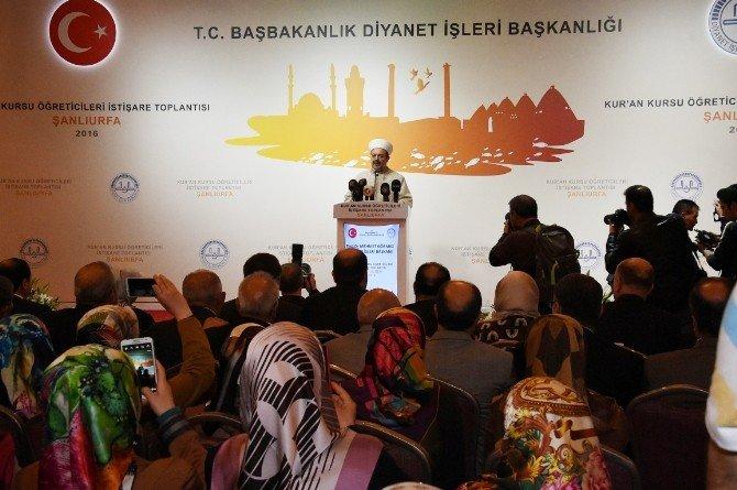 Diyanet İşleri Başkanı Mehmet Görmez: