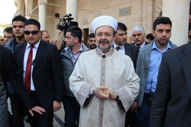 Diyanet İşleri Başkanı Mehmet Görmez'e Şanlıurfa'da Büyük İlgi