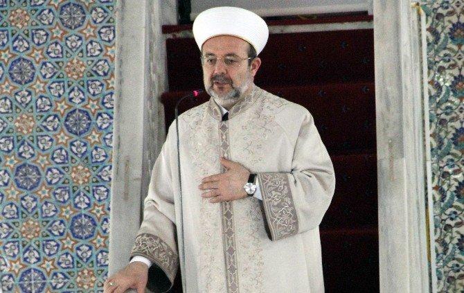 Diyanet İşleri Başkanı Mehmet Görmez Şanlıurfa'da