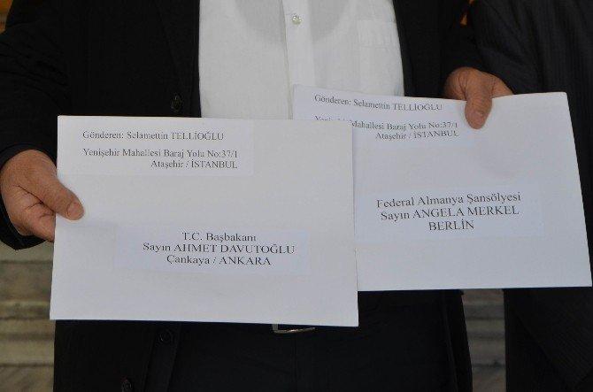 Dostluk Vakfı'ndan Davutoğlu Ve Merkel'e Barış Mektubu