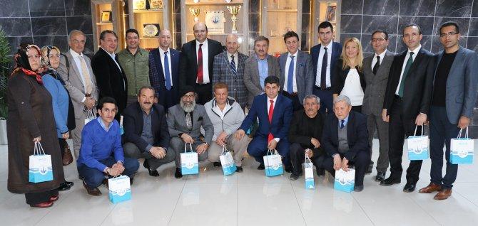 Başkan Orhan Ege'deki Dadaşlar'ı ağırladı