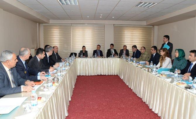 Erzurum'da madde bağımlılığı ile mücadele kurul toplantısı yapıldı