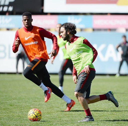Galatasaray, Gençlerbirliği maçının hazırlıklarını sürdürdü