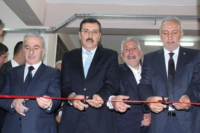 Bakan Tüfenkci, Kütüphane Açılışına Katıldı