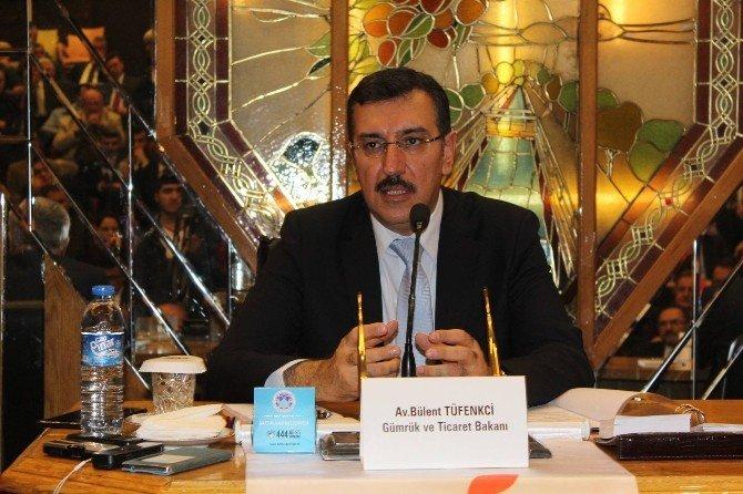 Bakan Tüfenkci, Malatya'da İl Yatırım Değerlendirme Toplantısı'na Katıldı