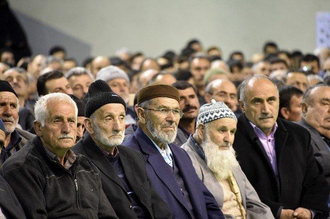 Gümüşhane'de Şehitler Ve Mehmet Akif Ersoy İçin Kur'an Ziyafeti Yapıldı