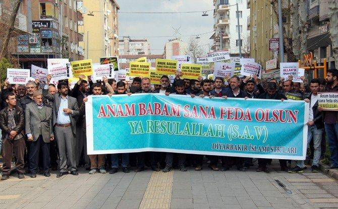 Diyarbakır'da 8 Mart Karikatürüne Tepki