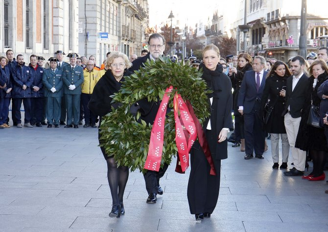 Madrid'de terör kurbanları anıldı