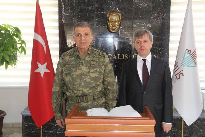 Jandarma Genel Komutanı Mendi Bitlis'te