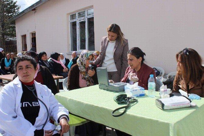 Sofular Köyü'nde Kanser Taraması Yapıldı