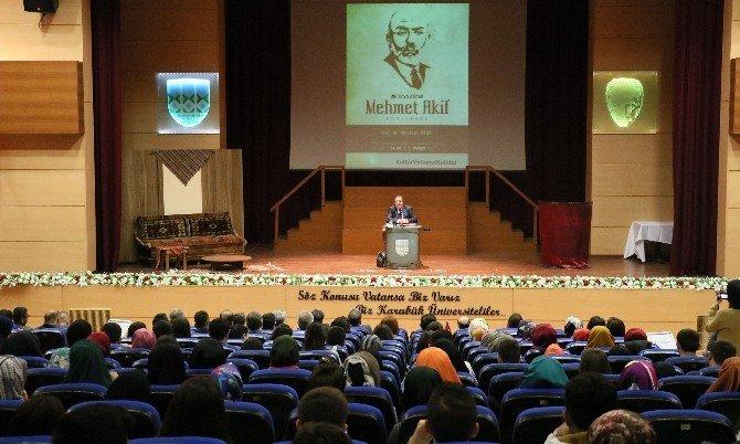 İstiklal Marşı'nın Kabulünün 95. Yıldönümü KBÜ'de Anıldı