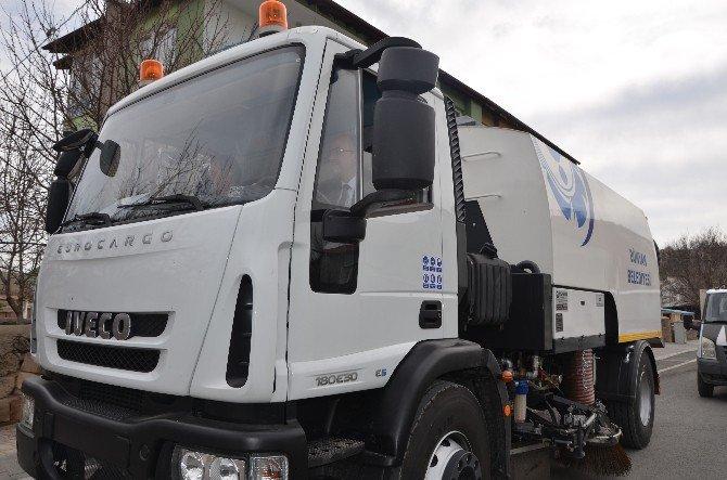 Bünyan Belediyesi Araç Filosu Her Geçen Gün Modern Araçlarla Daha Da Güçleniyor