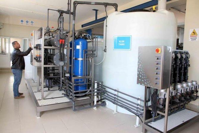 Kocaeli'nde içmesuyu arıtma tesislerine dezenfeksiyon sistemi