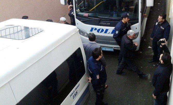 Kocaeli'deki Terör Operasyonunda 12 Kişi Adliyeye Sevk Edildi