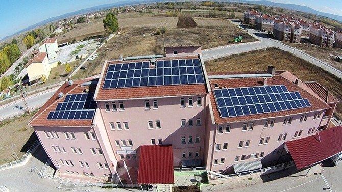 Çavdarhisar Ve Hisarcık Devlet Hastanelerine Güneş Enerjisi Santrali