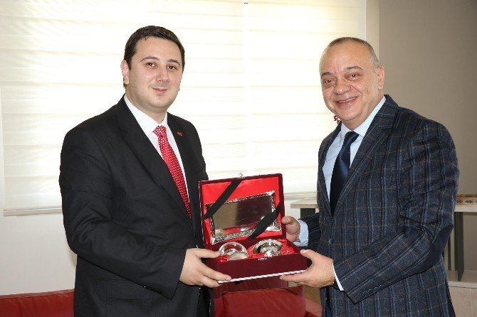 Başkan Ergün Makedonya'dan Konuklarını Ağırladı