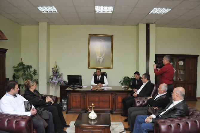 Başkan Can Yeni Mahalle İçin Müteahhitlerle Toplantı Yaptı