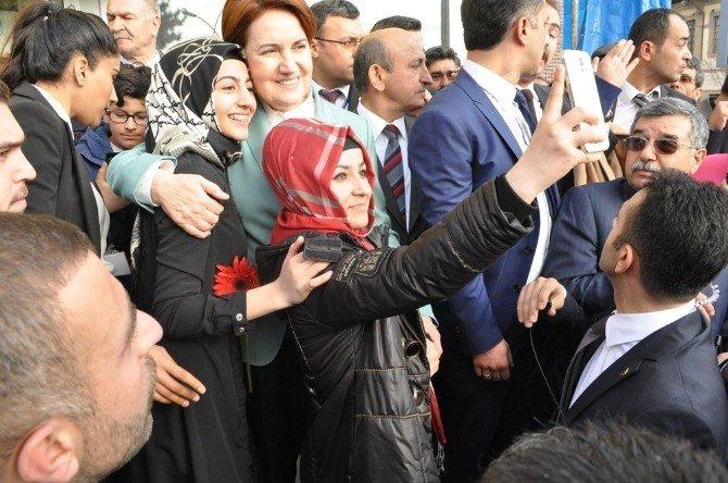 Akşener'in Çorum Ziyareti