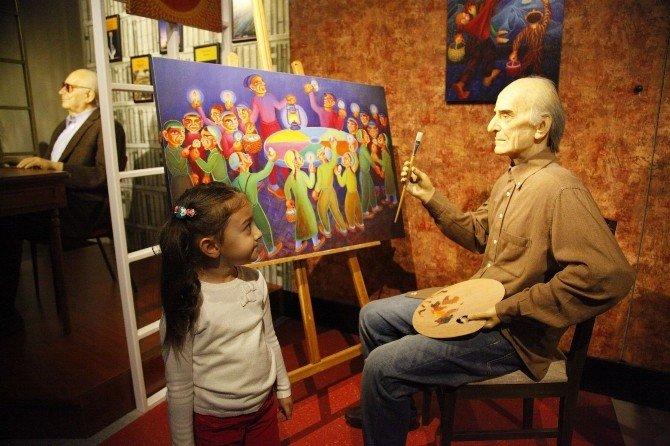 Emek Oyuncak Kütüphanesi Öğrenci Ve Velileri Balmumu Müzesi'nde