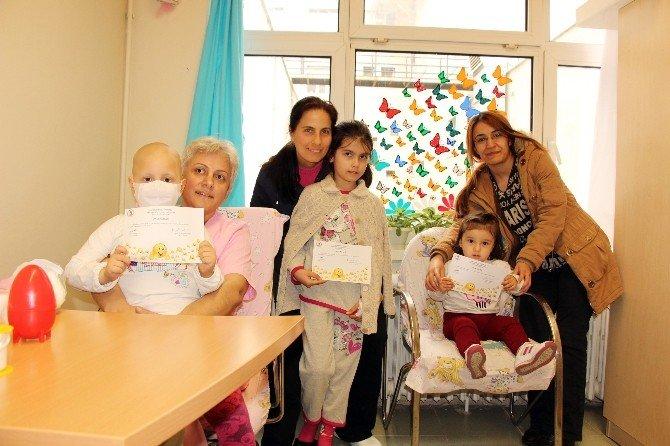 Bu Hastanede Çocuklar Ağlamadan Kan Veriyor