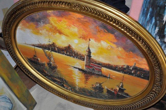 Ressam Tahsin Çeri: Sanat ve sanatçıya değer verilmiyor