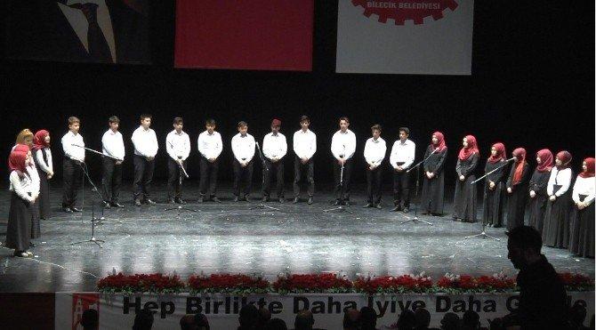 Bilecik'te İstiklal Marşının Kabulü Ve Mehmet Akif Ersoy'u Anma Programı