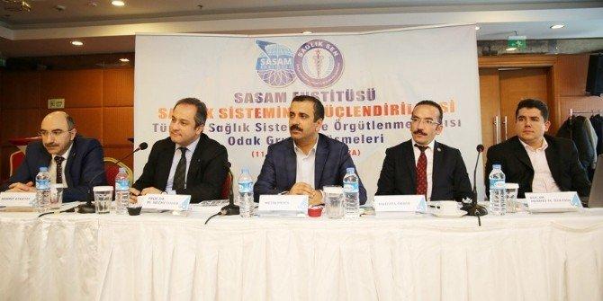Sasam'dan Sağlık Sistemi Örgütlenme Yapısı Çalıştayı