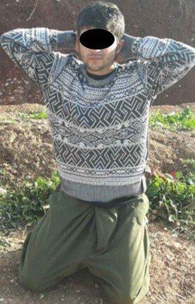 İdil'de Öldürülen Teröristin Üzerinden Haç Çıktı