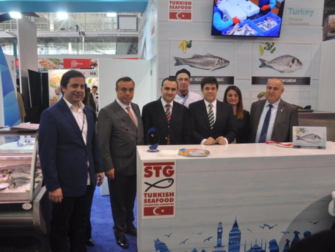 Türk su ürünleri, Boston'da görücüye çıktı