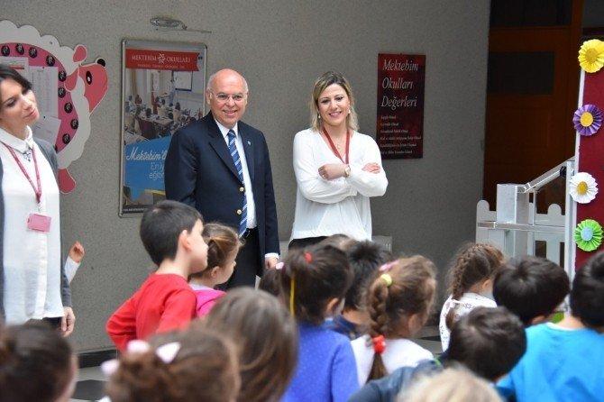 Başkan Eşkinat'ın Okul Ziyareti