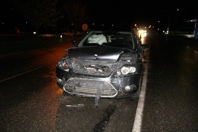 Saray'da Trafik Kazası Ucuz Atlatıldı