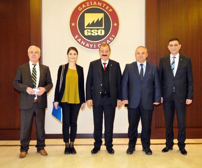 TÜBİTAK Marmara Teknokent Koordinatörü GSO'yu Ziyaret Etti